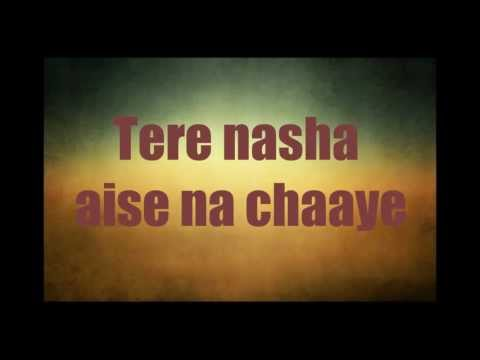 Players-jhoom Jhoom Ta Hun Main tera Nasha (2012 Full Song) Lyrics video
