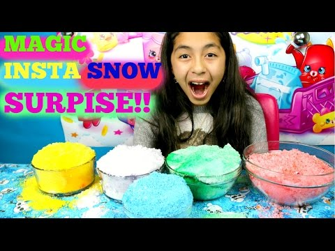 Coloring Magic Insta Snow Surprise |B2cutecupcakes