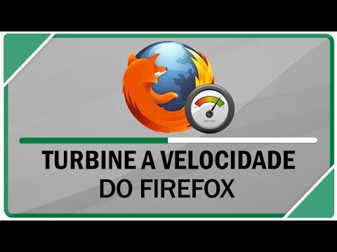 Como turbinar a velocidade do Mozilla Firefox