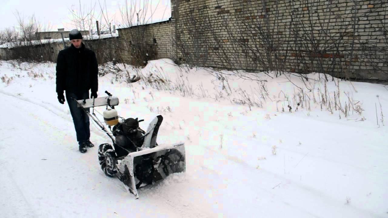 Роторный снегоуборщик самодельный снегоуборщик