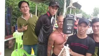 Hugo 24,43kg giải nhất ngày câu thi 02/10/2016 tại hồ Quận Ký