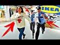 НОЧЬ В IKEA! ПРЯЧУСЬ ОТ ОХРАННИКОВ! 24 Часа Челлендж Сhallenge VLOG