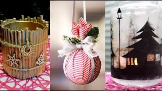 15 CHRISTMAS & WINTER DIY Projects [Simple crafts and ideas] 2018