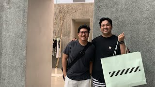 OFF-WHITE AND SNEAKER SHOPPING IN ORCHARD ROAD, SINGAPORE!