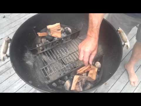 Smoking fish in weber bbq grill delicious how to for How to smoke fish