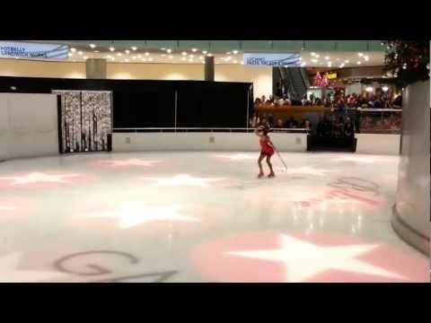 Dallas Galleria 2012 Tree Lighting (Haley Sullivan Spotlight Performance)