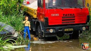 TATRA RC Truck & BRUDER TRAKTOR Deutz Agrotron