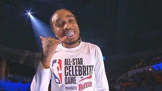 2019 Nba Celebrity All Star Game Player Introductions With Quavo Bad Bunny