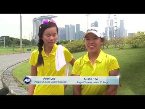 Victoria Junior College defeated Anglo Chinese Junior College golfers
