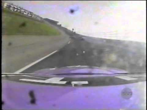 1997 Auto Racing Airplane Crash on Auto Racing Crash A Rama Part 3