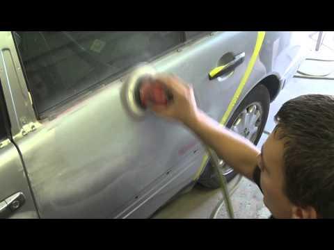 Покраска авто своими руками смотреть видео