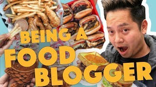 Life As A Food Blogger ft. Foodwithmichel - Lunch Break!