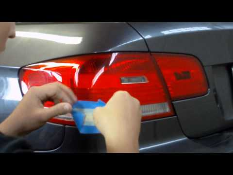 Plastidip Taillight Tint Stencil Diy