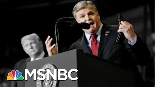 A Judge Releases Private Texts Between Sean Hannity And Paul Manafort | The 11th Hour | MSNBC
