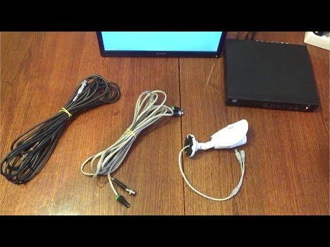 Подключение AHD камеры через витую пару