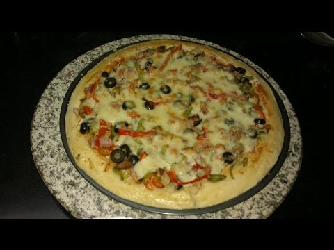 Chicken Pizza - Quick And Easy Recipe!