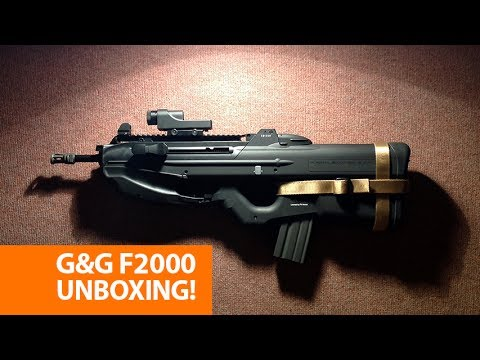 G&G FN F2000 AEG (Airsoft Unboxing)