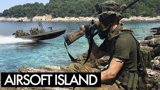 Russian Airsoft Milsim Wargame 9 Part 2 - Airsoft Sniper Gameplay - Novritsch