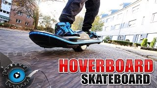 DAS HOVERBOARD SKATEBOARD - Skatey Balance Surfer [Review/Deutsch]