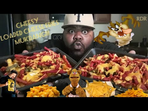☆Flaming Hot Cheetos&Takis Cheese Fries Mukbang☆(StoryTime)[Eating Show) thumbnail