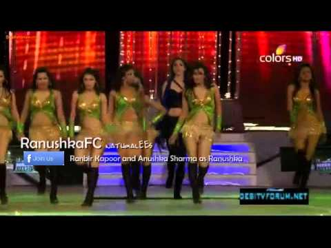 Anushka Sharma Performance At 18th Annual Colors Screen Awards 2012(hq) video