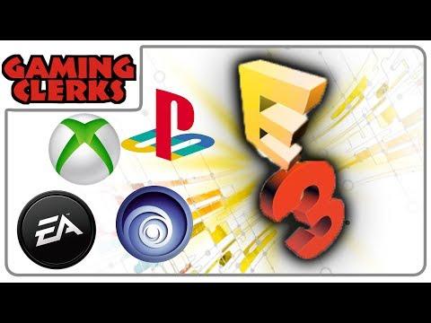 E3 2014 LiveShows //  Microsoft, Electronic Arts, UbiSoft & Sony