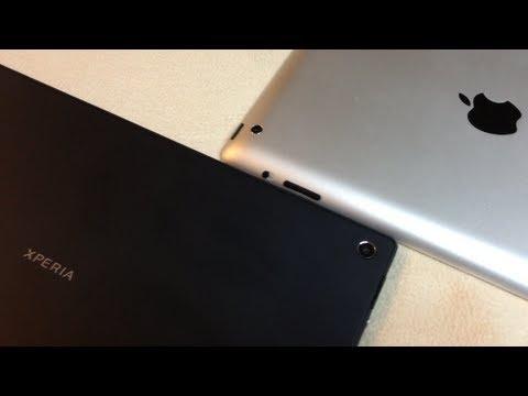 Comparación cámaras tabletas Sony Xperia Z VS Apple iPad 4