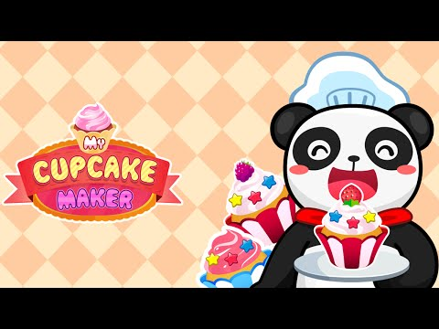 My Cupcake Maker - Bake & Decorate Sweet Cakes APK Cover