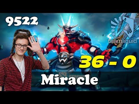 Miracle Sven 36 EPIC KILLS | 9522 MMR Dota 2