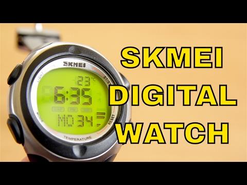 Review of Skmei 1080 Digital Watch