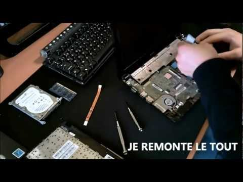 Dmontage / Remontage Netbook Asus Eeepc 1015PN