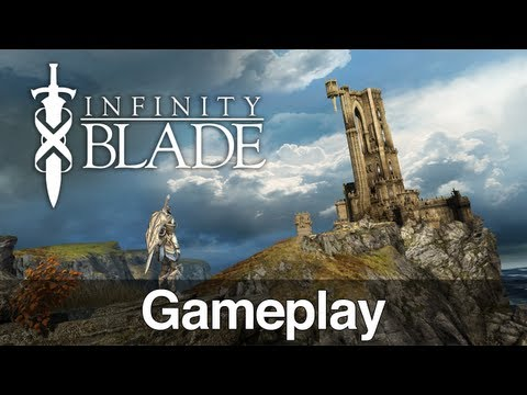 Infinity Blade od ChAIR i Epic Games - Gameplay i Recenzja