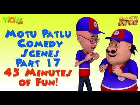 Motu Patlu comedy scenes Part 16 - Motu Patlu Compilation thumbnail