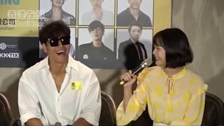Kim Jong Kook Jeon So Min (Kookmin) Moments Taiwan Fanmeet