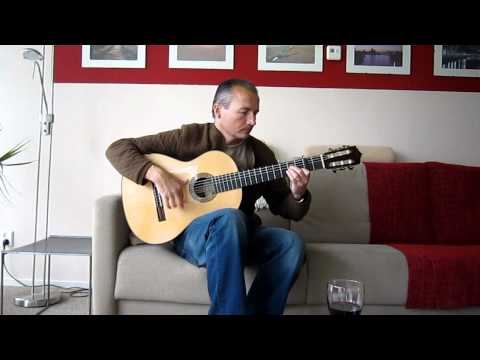 video Farruca on Anders Eliasson Guitar,Luthier, flamenco guitar solo