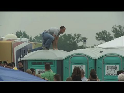 The Portapotty Dash at the Derby