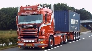 best of Scania V8 sound 2013 - 2015 open pipes saves lifes