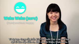 Học tiếng Nhật cùng cô giáo Konomi - Bài 2 - Từ tượng thanh