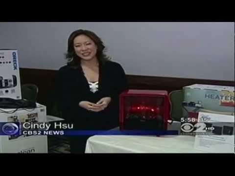 CBS Evening News Features Crane's NEW Fireplace Heater - 1-16-2013 5PM EST