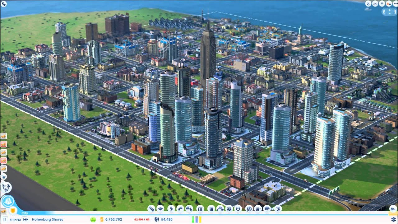 As seen from space... : SimCity