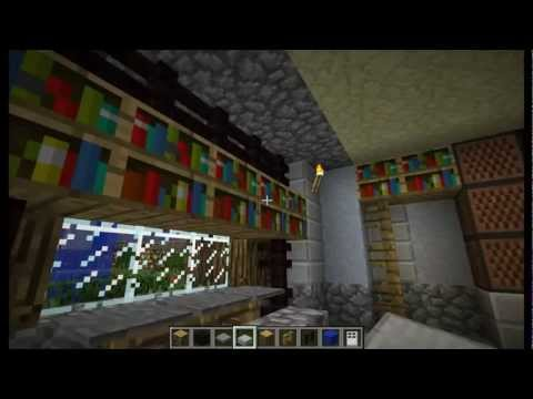 "Minecraft – Tutorial "" Come Arredare Una Casa "" ( Salotto ) #2"