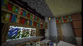 "Minecraft - Tutorial "" Come Arredare Una Casa "" ( Salotto ) #2"