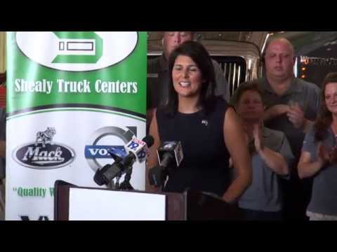 NFIB Endorsement of S.C. Gov. Nikki Haley