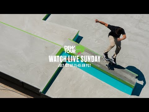 Dew Tour Women's Pro Park Final, Love & Guts Jam, Men