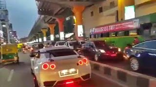 Luxurious BENTLEY in highway public reaction! Kerala! Bangalore ! India