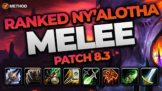 The BEST Raid Melee in 8.3? Top Ranked Raiding Classes & Specs | Method