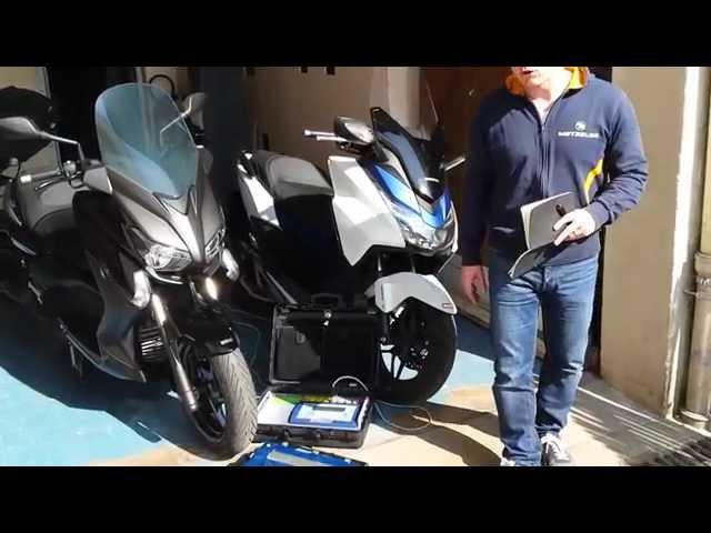 Vid�o Honda Forza vs Yamaha X-Max / MBK Evolis : Duel chez les Scooter 125 GT !