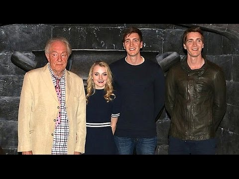 Harry Potter stars Q&A at Universal Orlando - Dumbledore, Weasley twins, Luna Lovegood