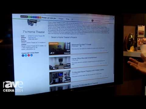 CEDIA 2014: Sanus Spaces Website Offers Ideas, Exploration to Consumers and Marketing for Dealers