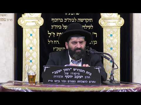 הרב אייל עמרמי שיעור מבית הכנסת בורוכוב טו אלול תשעז